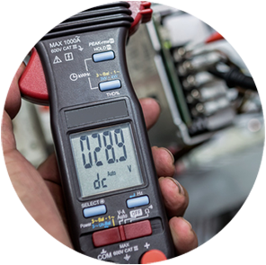 Dallas Electricians | Icon Voltmeter